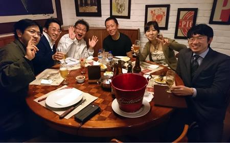 1日目の夜の食事会