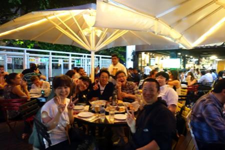 2日目の夜の食事会