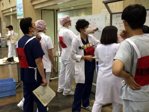 災害医療訓練