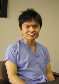 小舘先生の写真