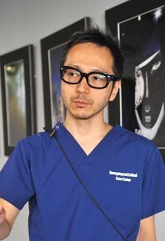 前川先生の写真