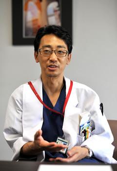 澤村先生の写真