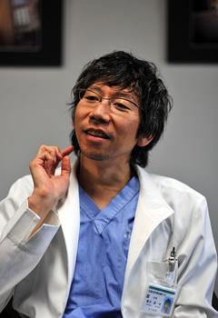 柳田先生の写真