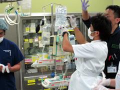 救急室・救急外来看護の写真
