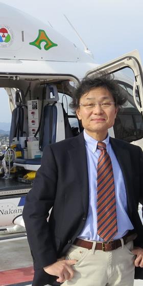 丸藤教授の写真