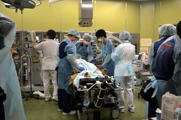 初療室での診察