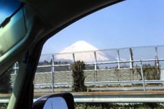 車中の景色